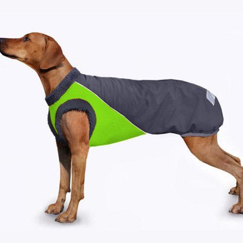 XL Waterproof Reflective Coat for Dogs Polar fleece inside Perfect fit XS